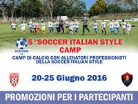 5° Soccer Italian Style Camp